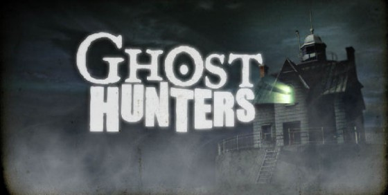 haunted house with Ghost Hunters logo